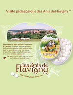 Anis de Flavigny - animations 2012